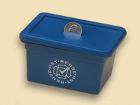 recycling bin, recycling box, blue box, recycling, recycled materials,...