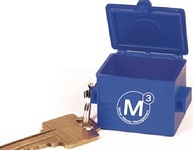 Front End Loader Dumpster Keytag