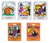 Metallic Halloween Bags