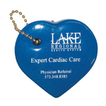 Heart Shaped Floating Key chain