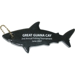 Floating Shark / Great White Shark Shaped Keychain