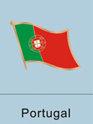 Portugal Flag Pin