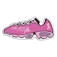 shoe, shoe magnet, shoe shaped magnet, walking magnet, breast cancer 3 day,...