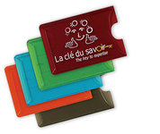 Translucent Colors Rigid Card Holder