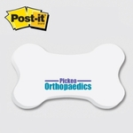 Bone / Dog Bone- Die Cut Post-it Note Pads
