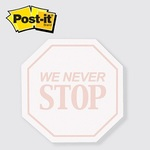 Stop Sign / Octagon - Die cut Post it Note Pads