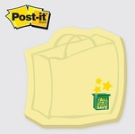Shopping Bag - Die Cut Post-it Note Pads