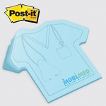 T Shirt - Die Cut Post it Note Pads