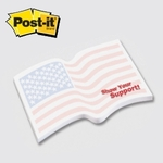 Flag - Die Cut Post-it Note Pads