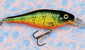 Shallow Shad Minnow Fishing Lures