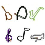 Music Shaped Pens and Pencils