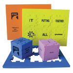 Foam Puzzle Cubes - Snafooz® inspired puzzle