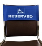 Handicap RESERVED Stock Design Chair Covers