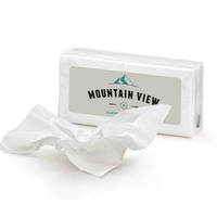 promo tissue, tissue packs, individual tissue packs, funeral home tissue...