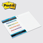 6 x 8 Full Color Post-it Note Pads