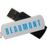 2GB Beaumont USB Flash Drive (Overseas)