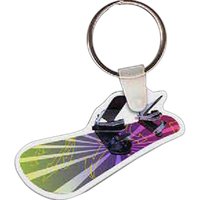 Snowboard Key Tag