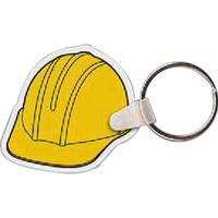 Hard Hat Key Tag - Full Color