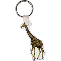 Giraffe Key Tag