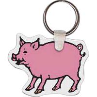 Pig Key Tag