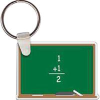 Chalk Board Key Tag