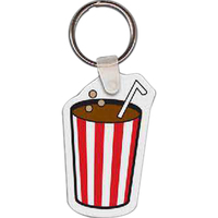 Soda Pop Key Tag