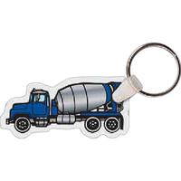 Cement Truck Key Tag