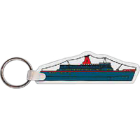 Cruise Ship Key Tag