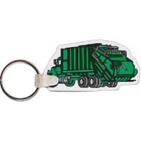 Garbage Truck Key Tag