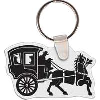 Horse & Buggy Key Tag