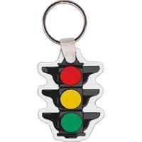 Stop Light Key Tag