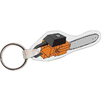 Chain Saw Key Tag - Full Color