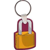 Padlock Key tag