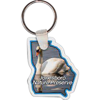 Georgia Key tag - Full Color