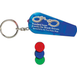 Whistle Light Key Tag