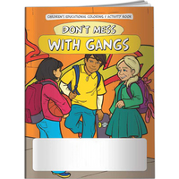 Coloring Book - Don't Mess With Gangs