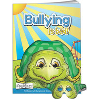 Fun Mask Coloring Book - Bullying is Bad