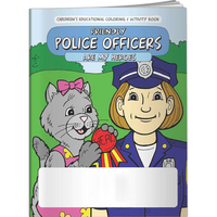 Coloring Book - Police Officers are My Heroes