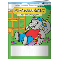 Coloring Book - Playground Safety Squirrel