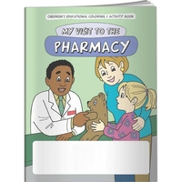 Coloring Book - My Visit to the Pharmacy