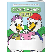 Coloring Book - Saving Money is Fun