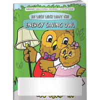 Coloring Book - Energy Saving Owl
