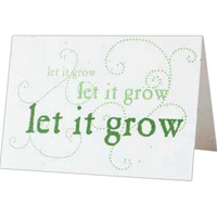 Small Seed Paper Greeting Card (3x4 folded)