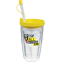 16oz Thermal Double Wall Travel Tumbler - Decal Imprint