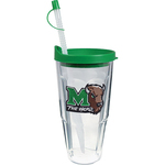 24 oz Thermal Double Wall Travel Tumbler wLid - Emb. Emblem