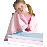 Satin Trim Microfleece Baby Blankets