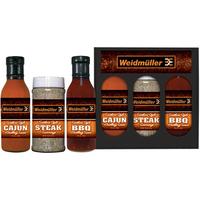 Wet/Dry Grilling Set (Rub/Sauces)