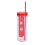 19 oz Infusion Tumbler with Straw