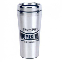 16 oz. Silver Spectrum Tumbler with Stainless Steel Liner