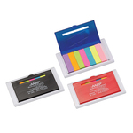 Refillable 4 Inch Ruler With Sticky Notes Tabs